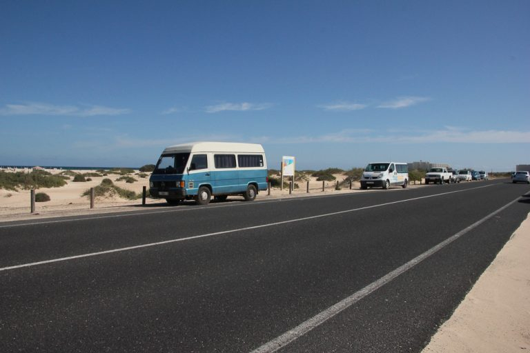 Fuerteventura med sine langstrakte strender
